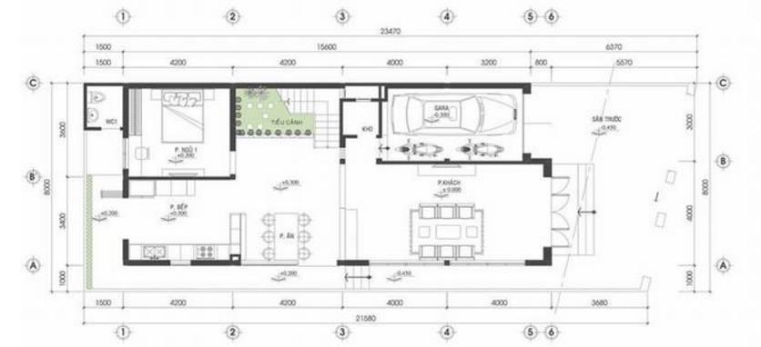 mẫu nhà phố 2 tầng - Tổng hợp 4 mẫu nhà phố 2 tầng đẹp tối ưu công năng