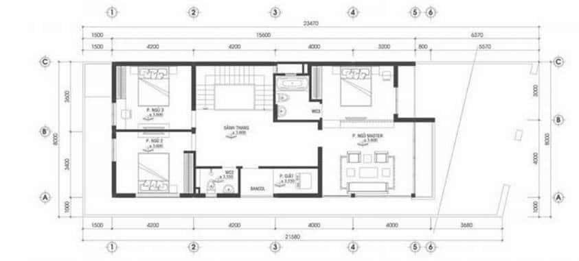mau nha pho 2 tang - Tổng hợp 4 mẫu nhà phố 2 tầng đẹp tối ưu công năng