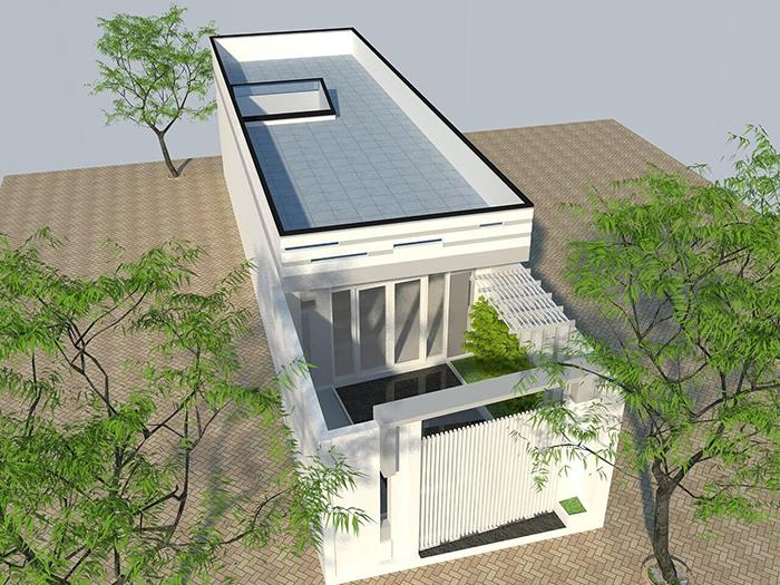 nhà phố 1 tầng 15 - Thiết kế nhà 30m2