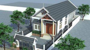 nhà phố 1 tầng 20 300x169 - Tổng hợp 5 mẫu nhà phố 1 tầng đẹp và sang trọng