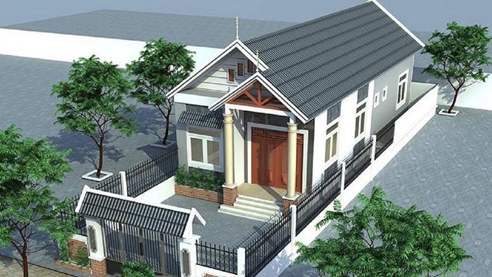 nhà phố 1 tầng 20 - Thiết kế nhà 30m2