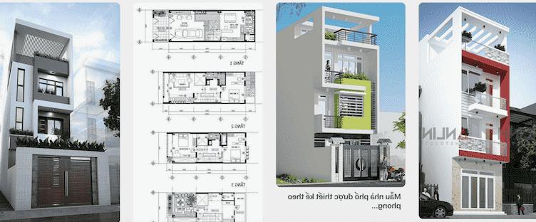 Dịch vụ thiết kế nhà 3 tầng hàng đầu Việt Nam