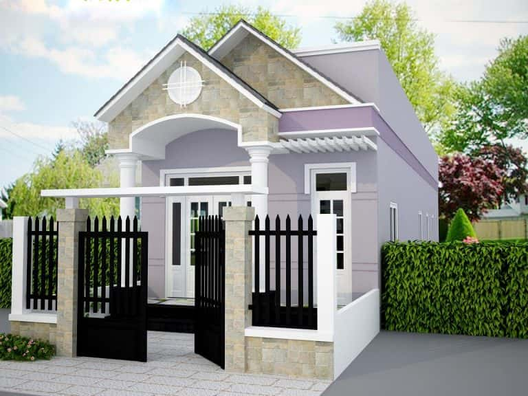 nha pho 1 tang dep 9 768x576 - Thiết kế nhà 30m2