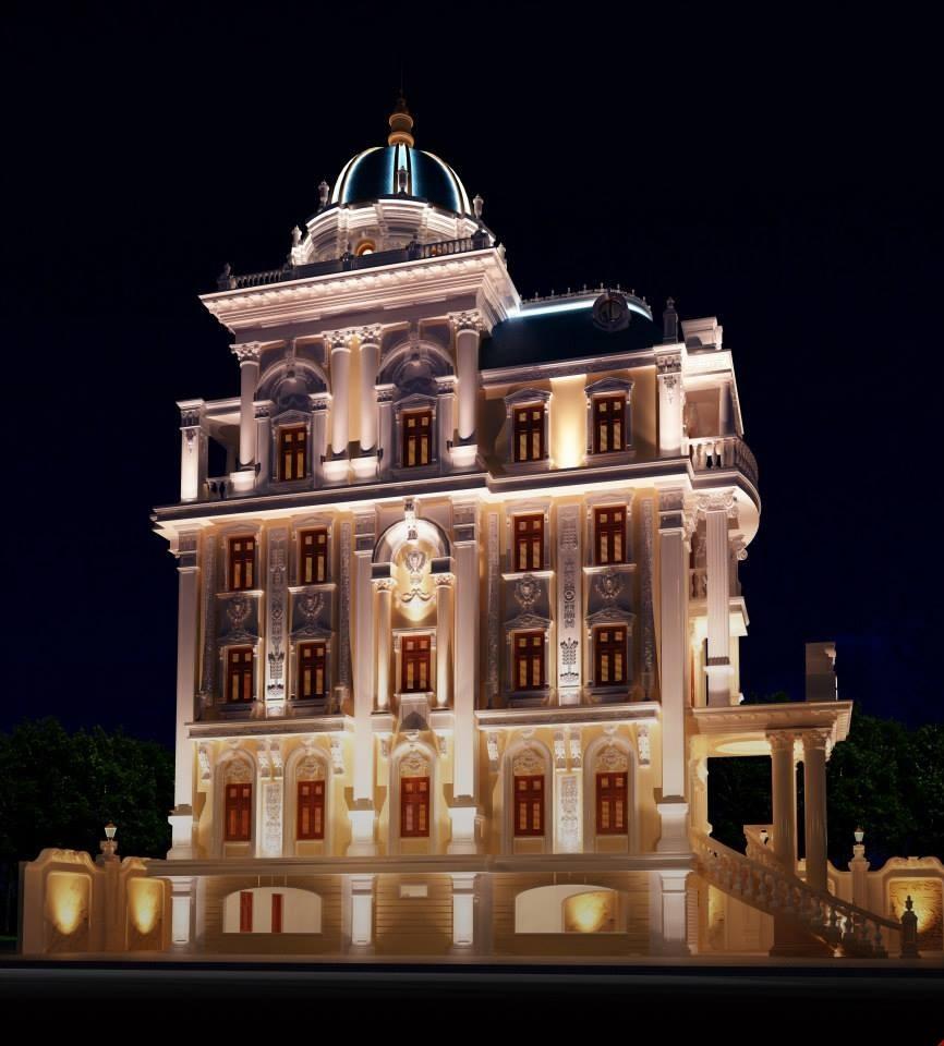 thiết kế biệt thự cổ điển 18 - Thiết kế biệt thự cổ điển đẹp