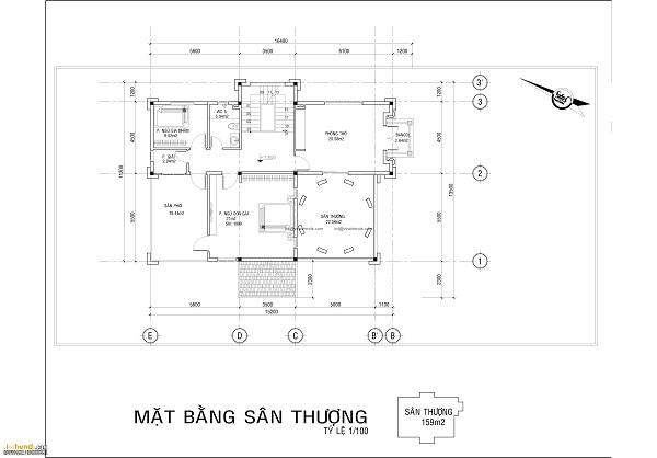 thiết kế biệt thự cổ điển 3 - Thiết kế biệt thự cổ điển đẹp