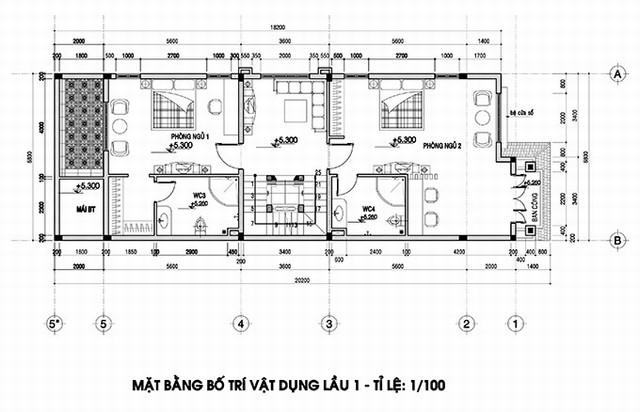 thiết kế biệt thự tân cổ điển 3 - Thiết kế biệt thự tân cổ điển đẹp