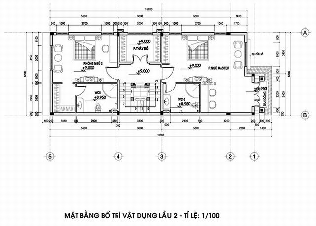 thiết kế biệt thự tân cổ điển 4 - Thiết kế biệt thự tân cổ điển đẹp