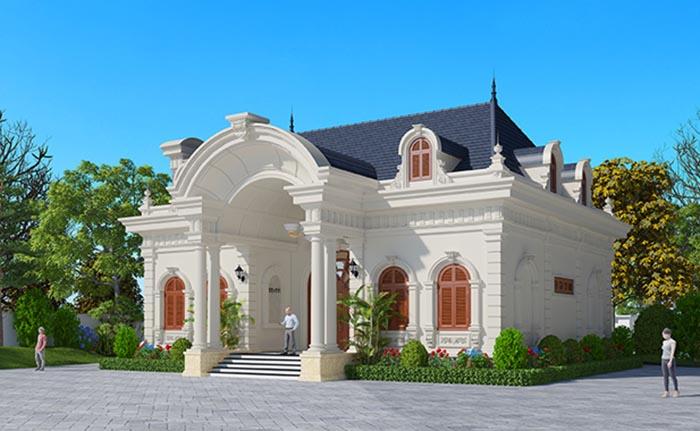 thiết kế biệt thự tân cổ điển 7 - Thiết kế biệt thự tân cổ điển đẹp