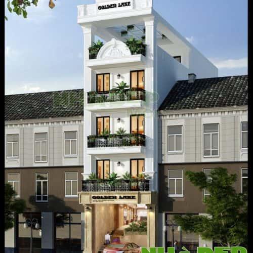 thiet ke nha nghi 3 tang - Thiết kế nhà nghỉ 3 tầng