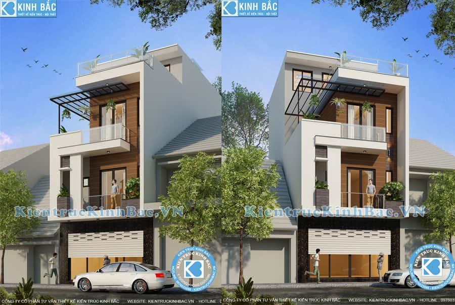 thiet ke nha ong dep 3 tang 1 - Thiết kế nhà 3 tầng đẹp