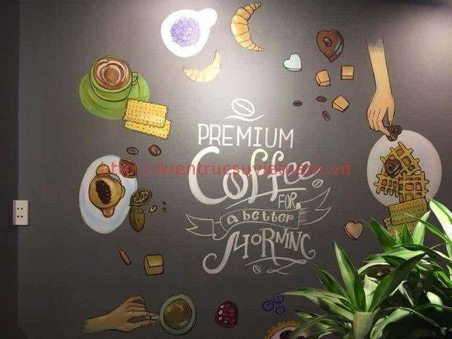tranh tuong cafe vag 04 e1621416159464 - Vẽ tranh tường quán Cafe 2d, 3d cực đẹp theo yêu cầu đảm bảo tiến độ