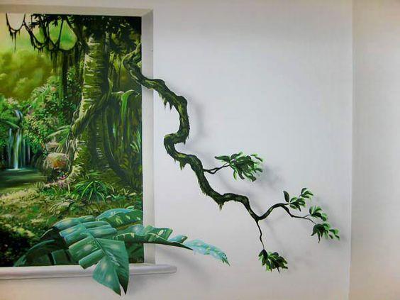 ve tranh tuong quan cafe 3d dep 2 - Vẽ tranh tường quán Cafe 2d, 3d cực đẹp theo yêu cầu đảm bảo tiến độ