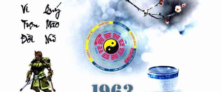 Người Sinh năm 1963 mệnh gì ?