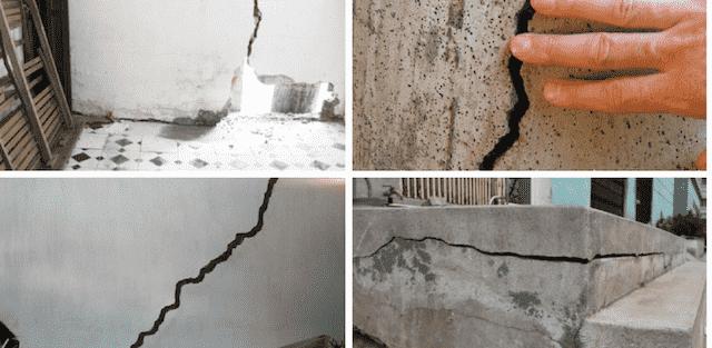Tư vấn tường, cột bị rạn, nứt trong quá trong thi công