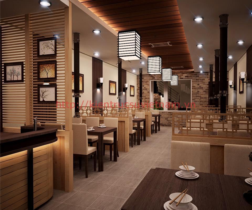 trang trí nội thất nhà hàng - Top 6 phong cách trang trí nội thất nhà hàng đẹp nhất 2018