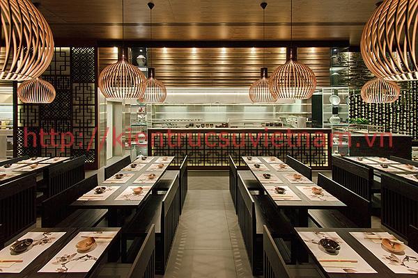 trang trí nội thất nhà hàng3 - Top 6 phong cách trang trí nội thất nhà hàng đẹp nhất 2018