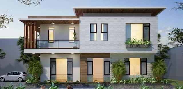 Dự án biệt thự 2 tầng phong cách hiện đại Vân Đồn, Quảng Ninh