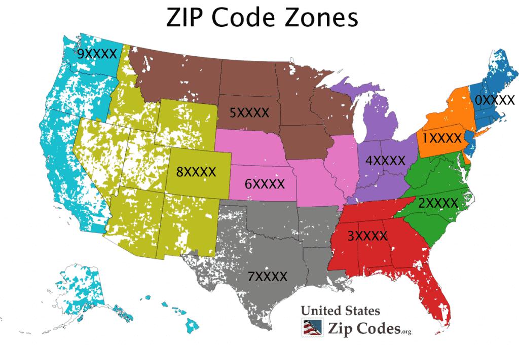 zip codes 1024x683 - Mã bưu chính 63 tỉnh thành Việt Nam (Zip Postal Code)