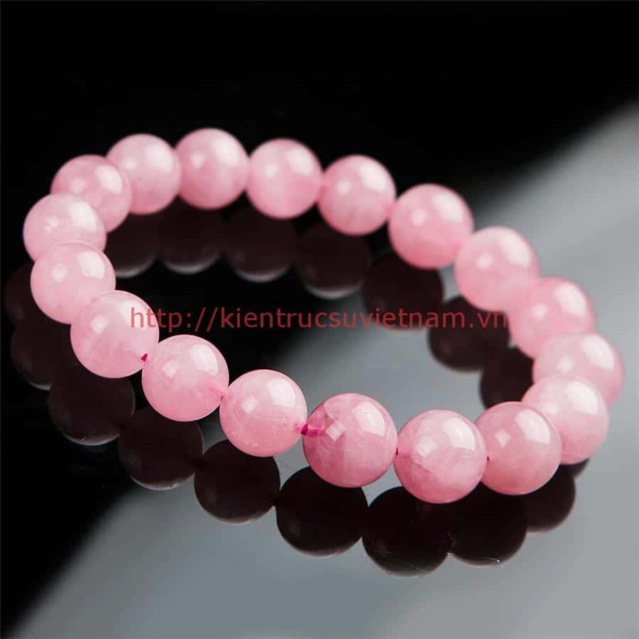 11mm Madagascar Natural Quartz Bracelets For Women Deep Pink Round Crystal Beads Stretch Charm Bracelet Femme - Đặc điểm, ý nghĩa và lợi ích của vòng đá thạch anh hồng