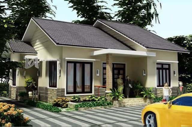 biet thu nha vuon 1 tang mai thai 1 - Biệt thự nhà vườn 1 tầng mái thái