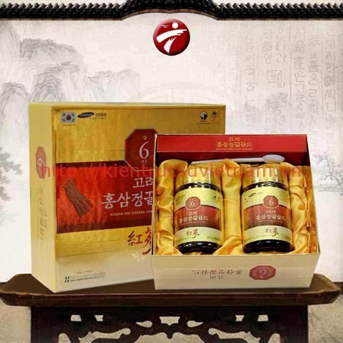 cao hong sam 6 nam tuoi han quoc - Những món quà biếu thông gia nên chọn ngày tết