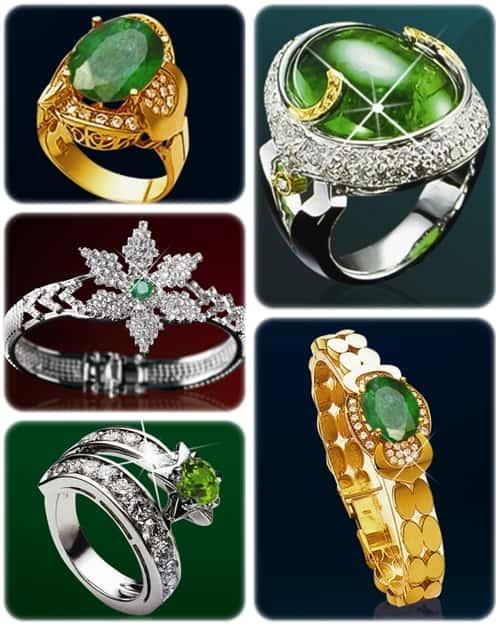 nhan emerald2 - Ý nghĩa và cách lựa chọn vòng ngọc phong thủy