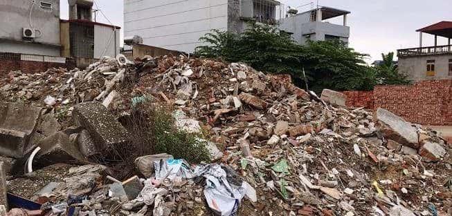 Nguyên nhân phát sinh rác thải xây dựng