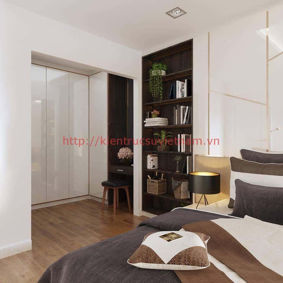 biet thu pho 2 tang dep 10 - Biệt thự 2 tầng hiện đại với mặt tiền đẹp mê ly