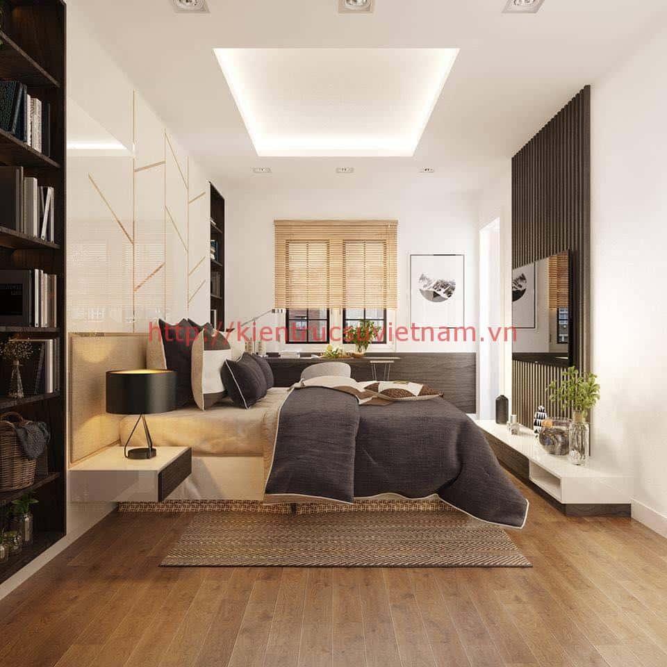 biet thu pho 2 tang dep 4 - Biệt thự 2 tầng hiện đại với mặt tiền đẹp mê ly