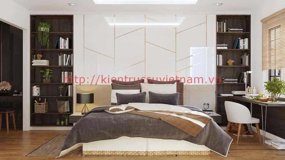biet thu pho 2 tang dep 5 - Biệt thự 2 tầng hiện đại với mặt tiền đẹp mê ly
