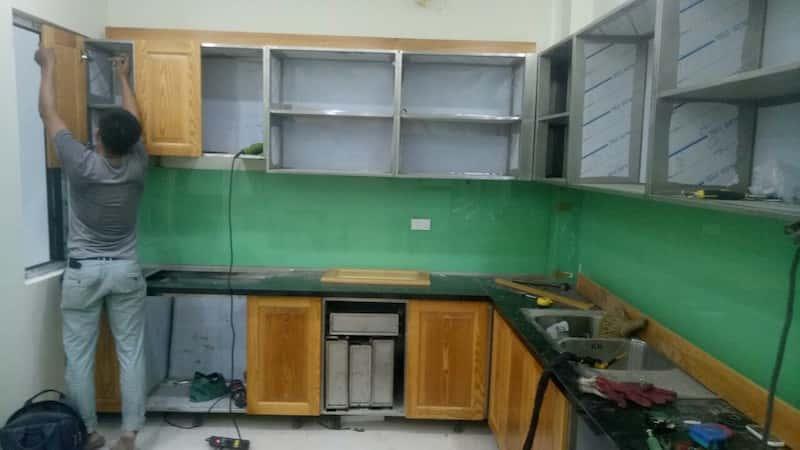 mau tu bep inox dep 3 - Tủ bếp inox cho căn bếp hoàn hảo của bạn