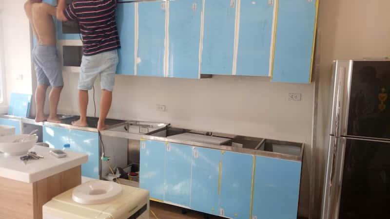 mau tu bep inox dep 8 - Tủ bếp inox cho căn bếp hoàn hảo của bạn