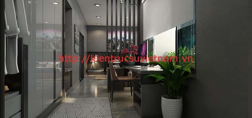 biet thu 3 tang hien dai quang binh 3 - Công trình biệt thự 3 tầng hiện đại anh Quyền Quảng Bình