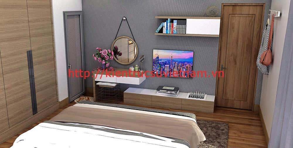 biet thu hien dai 2 tang da nang 4 - Công trình biệt thự 2 tầng hiện đại Chị Hương Đà Nẵng