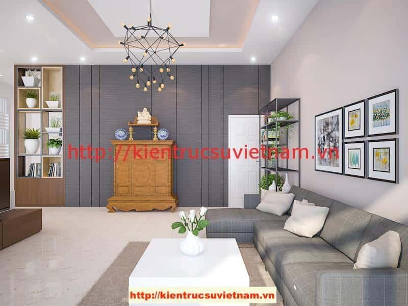 khach v2 - Công trình biệt thự 1 tầng với 3 phòng ngủ Mr Hoàng, Bình Dương