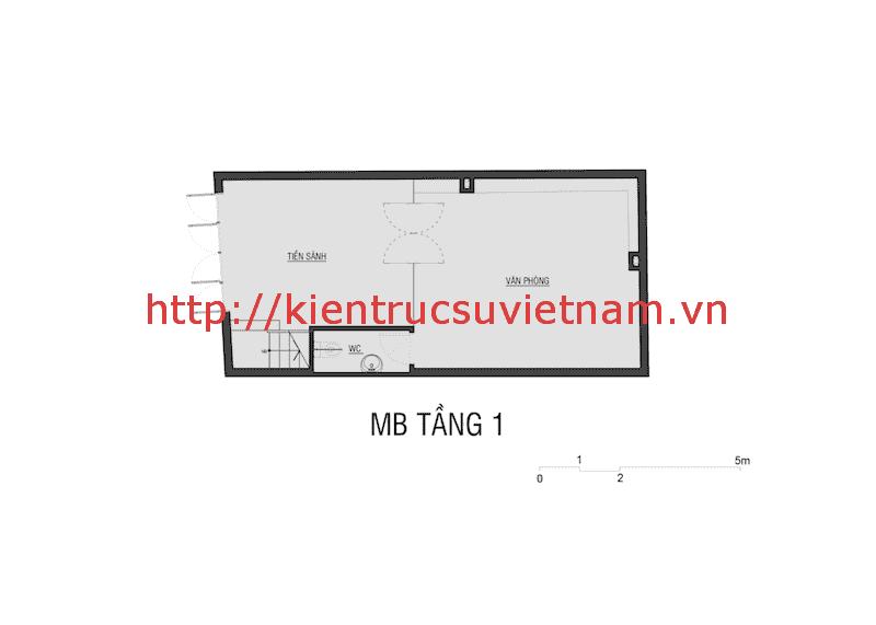 mat nag tang 1 nha 5 tang - Công trình nhà ống 5 tầng hiện đại Mr Duy Thủ Đức