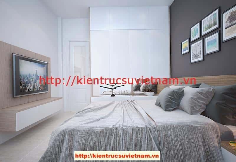 ngu 1 v2 - Công trình biệt thự 1 tầng với 3 phòng ngủ Mr Hoàng, Bình Dương