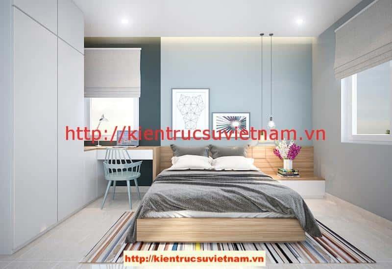 ngu 2 v1 - Công trình biệt thự 1 tầng với 3 phòng ngủ Mr Hoàng, Bình Dương