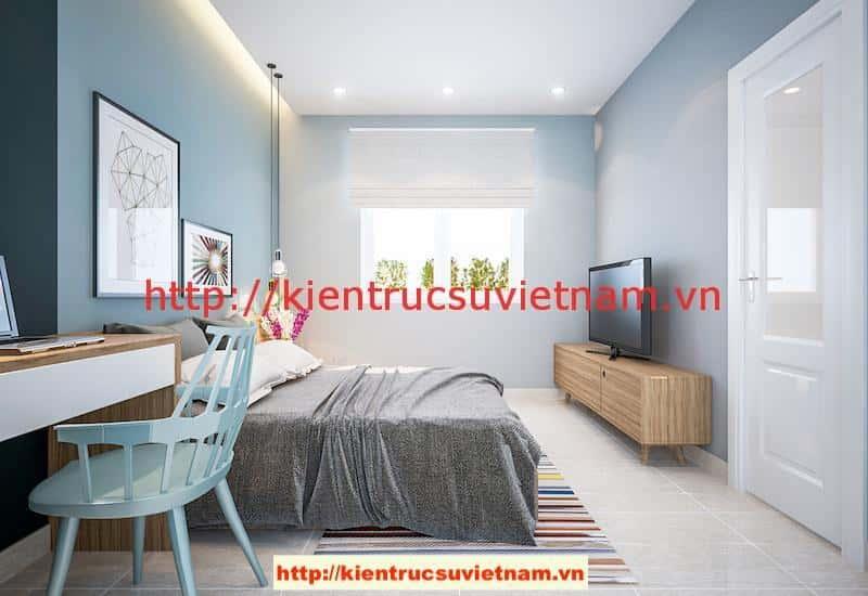 ngu 2 v2 - Công trình biệt thự 1 tầng với 3 phòng ngủ Mr Hoàng, Bình Dương