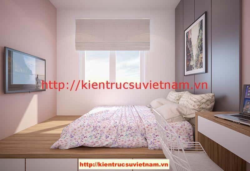 ngu 3 v2 - Công trình biệt thự 1 tầng với 3 phòng ngủ Mr Hoàng, Bình Dương