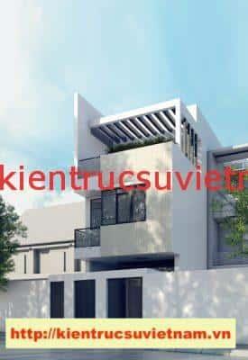 nha pho 3 tang chi tam 275x400 - Công trình nhà phố 3 tầng kiến trúc hiện đại chị Tâm quận 9