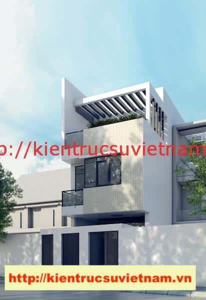 nha pho 3 tang chi tam - Công trình nhà phố 3 tầng kiến trúc hiện đại chị Tâm quận 9