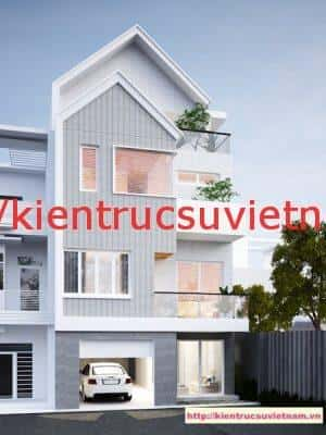 nha pho 4 tang dep 300x400 - Thiết kế nhà phố 4 tầng hiện đại gia đình anh Sơn chị Thuỷ