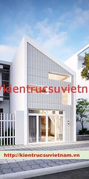 nha pho hien dai NGAY - Dự án nhà phố 2 tầng chị Thu quận Phú Nhuận