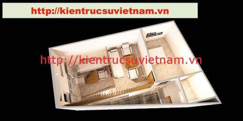 nha pho hien dai mb lau - Dự án nhà phố 2 tầng chị Thu quận Phú Nhuận