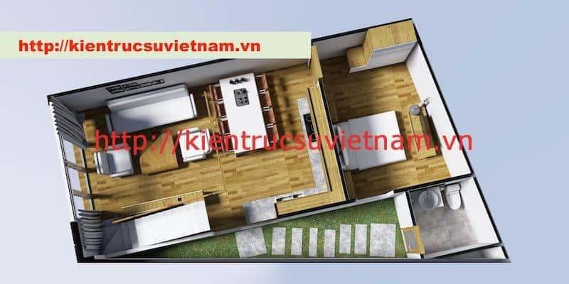 nha pho hien dai mb - Dự án nhà phố 2 tầng chị Thu quận Phú Nhuận