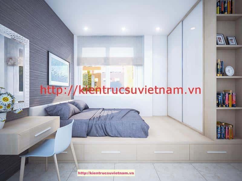 noi that phong ngu 4 v1 - Thiết kế nhà phố 4 tầng hiện đại gia đình anh Sơn chị Thuỷ