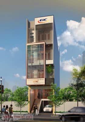 thiet ke nha van phong tru so lam viet EIC da nang 280x400 - Thiết kế Trụ sở làm việc EIC tại Đà Nẵng