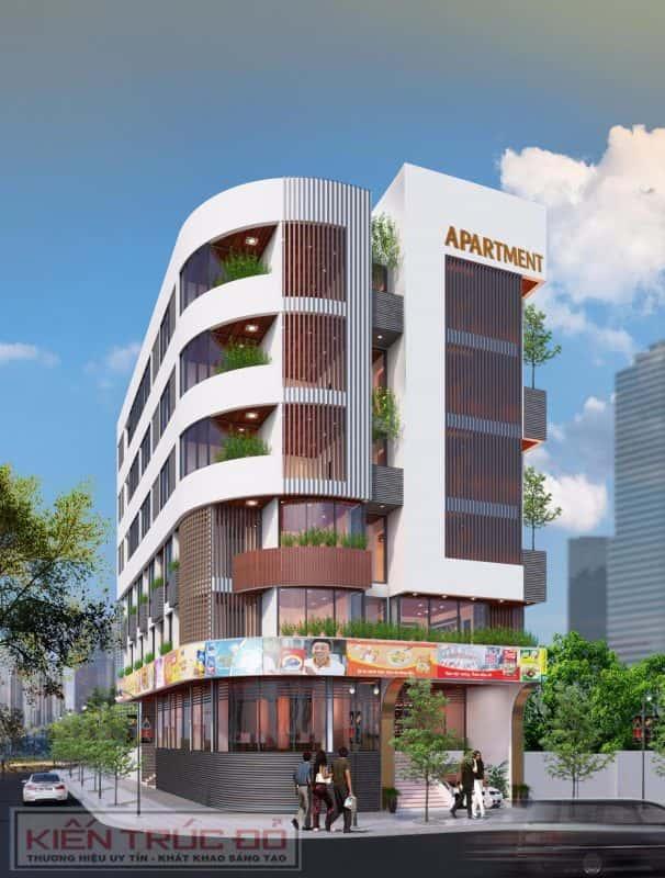 thiet ke toa nha can ho kinh doanh 606x800 - Thiết kế căn hộ cho thuê - Quận sơn trà Đà nẵng