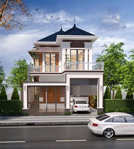 42887298 285088912104849 8197448806770409472 o - Công trình biệt thự 2 tầng tân cổ điển đẹp với kinh phí 1.7 tỷ